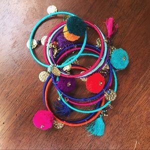 Jewelry - 🌻SALE NWOT • Tassel bangle bundle